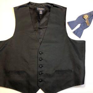 Brooks Brothers Silk Tuxedo Vest